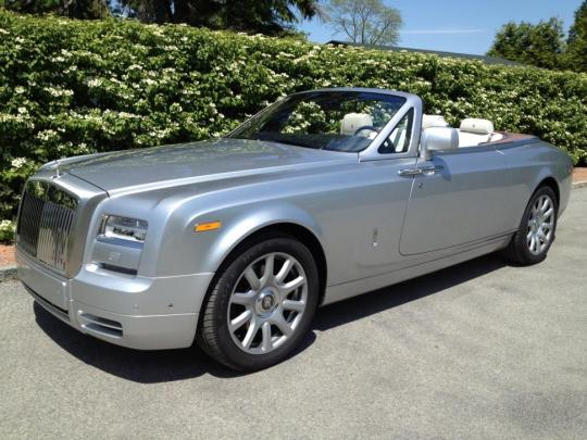 2015 Rolls Royce Phantom Drophead Coupe Vin