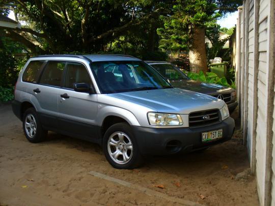 2003 subaru forester tire size