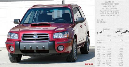 2004 Subaru Forester Photo 1