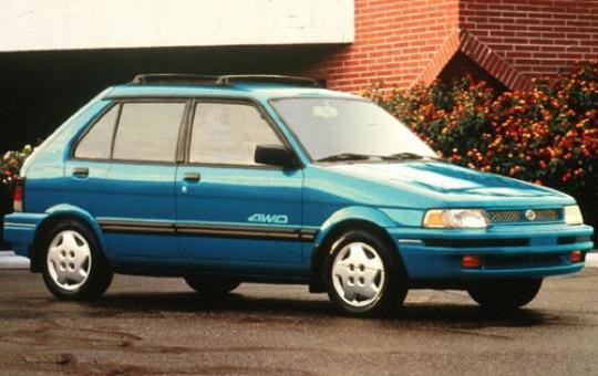 1991 Subaru Justy Photo 1