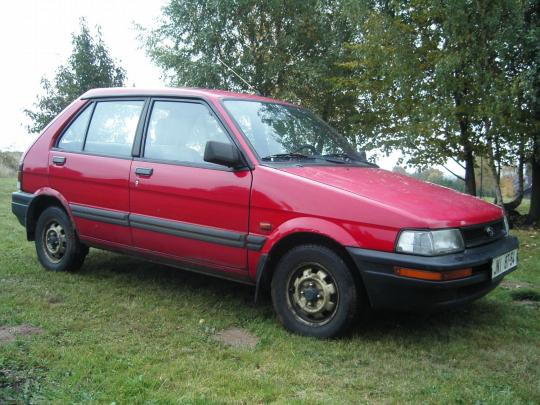 1993 Subaru Justy Photo 1