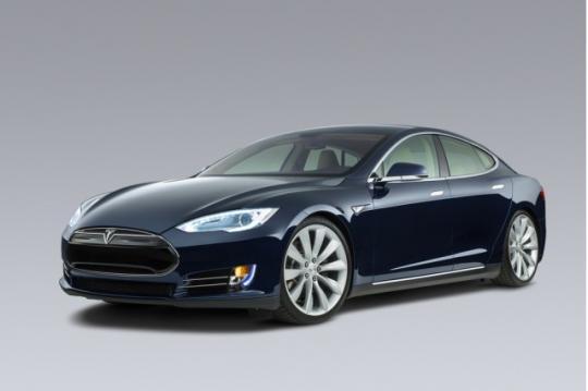 2014 Tesla Model S Photo 1
