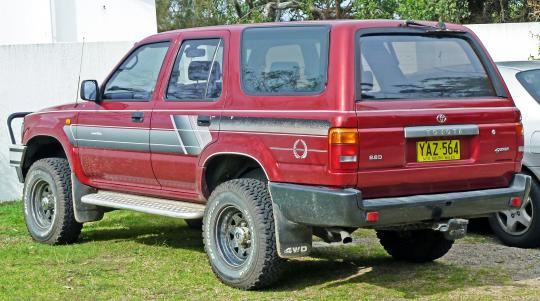 1991 toyota 4runner vin jt3rn27v2m0001232 for 1990 toyota 4runner rear window motor