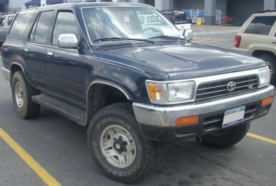1992 4runner Recall Toyota