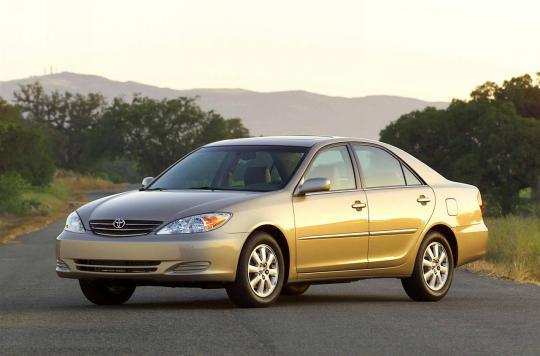 2003 Toyota Camry Photo 1