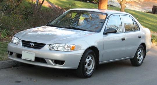 2001 Toyota Corolla Photo 1