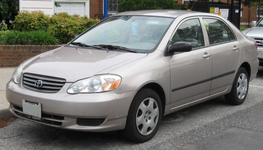 2003 Toyota Corolla Photo 1
