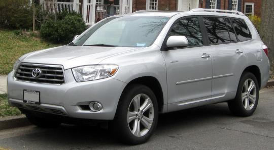2008 Toyota Highlander Photo 1