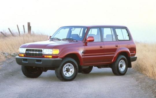 1991 Toyota Land Cruiser exterior