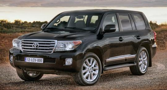 2013 Toyota Land Cruiser Photo 1