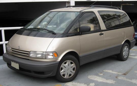 1996 Toyota Previa Photo 1