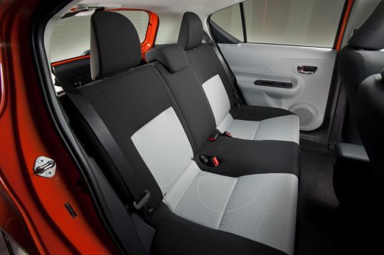 2012 Toyota Prius C Vin Jtdkdtb36c1028468 Interior