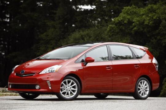 2012 Toyota Prius V Photo 1