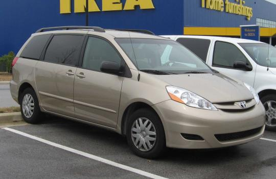 2006 toyota sienna vin 5tdza22c06s500527. Black Bedroom Furniture Sets. Home Design Ideas