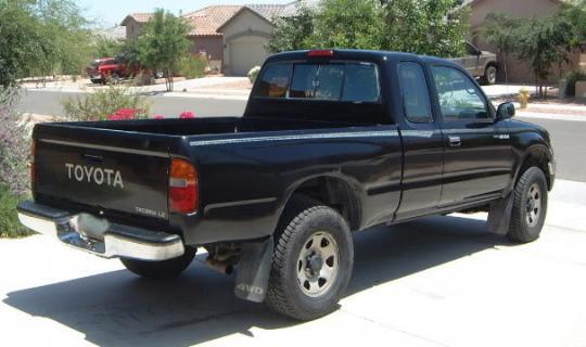 1996 Toyota Tacoma Vin 4tavl52n3tz114475