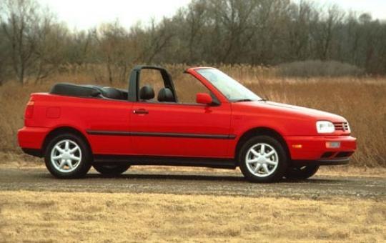 1995 Volkswagen Cabrio exterior