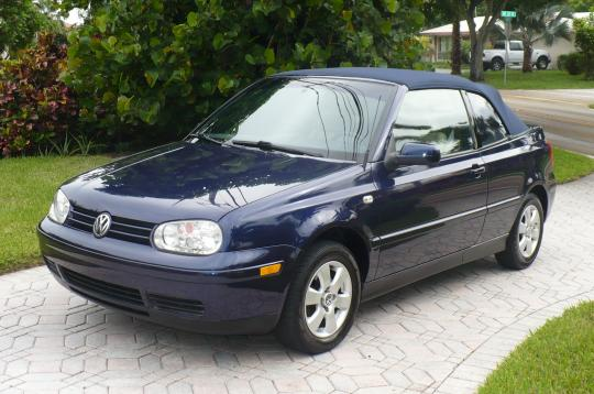 2002 Volkswagen Cabrio Gl Photo 1