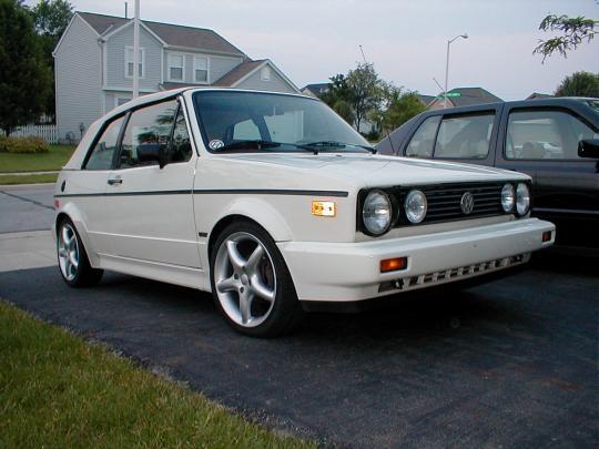 100 Convertible Volkswagen Cabriolet 1991 Vw