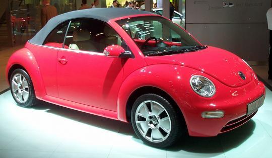 2003 Volkswagen New Beetle Photo 1