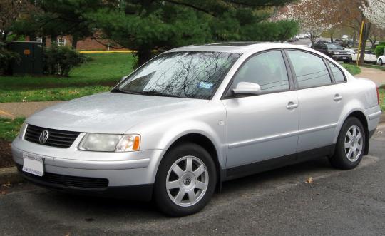 2001 Volkswagen Passat - VIN: WVWAH63B51P017771 - AutoDetective.com