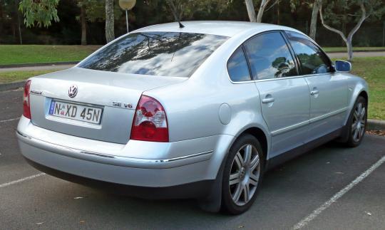 2004 Volkswagen Passat Vin Wvwme63b64p330306