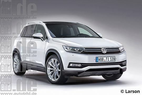 2016 Volkswagen Tiguan Photo 1