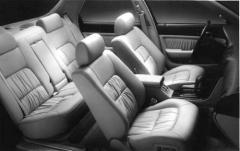 1993 Acura Legend interior