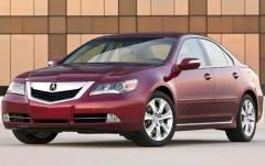 2010 Acura RL exterior