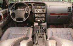 1996 Acura SLX interior