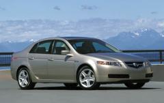 2004 Acura TL exterior