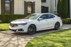 2018 Acura TLX exterior