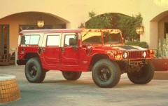1999 AM General Hummer exterior