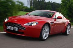 2013 Aston Martin V8 Vantage exterior