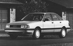 1991 Audi 80 exterior
