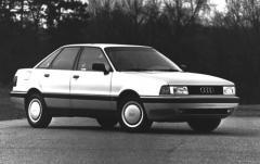 1992 Audi 80 exterior