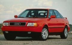 1990 Audi 90 exterior