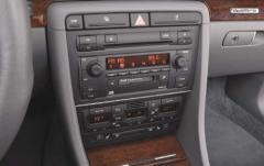 2002 Audi A4 interior