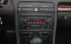 2003 Audi A4 interior