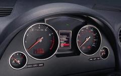 2004 Audi A4 interior