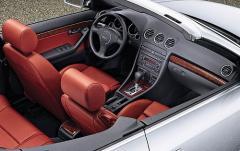2005 Audi A4 interior