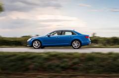2017 Audi A4 exterior