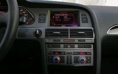 2006 Audi A6 interior