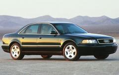 1997 Audi A8 exterior