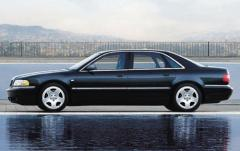 2001 Audi A8 exterior
