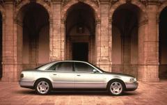 2002 Audi A8 exterior
