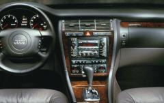 2002 Audi A8 interior