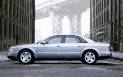 2003 Audi A8 exterior