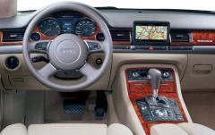2004 Audi A8 interior