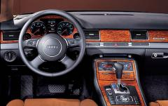 2006 Audi A8 interior