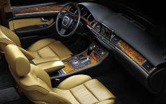 2007 Audi A8 interior